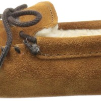 Minnetonka Pile Lined Softsole (Toddler/Little Kid/Big Kid),Brown,8 M US Toddler