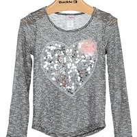 Girls - Daytrip Metallic Top