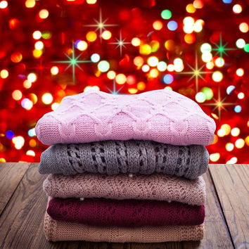 Sweaters! Mystery Warm Sweaters, All Colors & Styles!