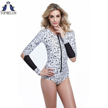 one piece swimsuit  long sleeve biquini brasileiro swimwear women sexy one piece swimwear one piece bathing suits for women