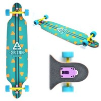 "Blunt New Cruiser Thru Maple Deck Skateboarding Through Longboard 9.5x42"" F Graphic Professional"