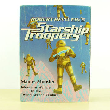 1976 Starship Troopers Board Game - Robert Heinlein Man vs Monster