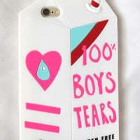 100% Boys Tears iPhone Case