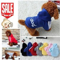 Autumn  Winter  Products  Clothes  Coats  Cotton  Puppy