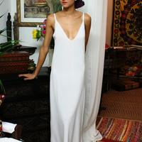 Formal Length Slip White Slip Black Slip Ivory Slip Nightgown Sleepwear Lingerie Dress Liner