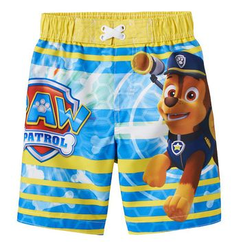 Paw Patrol Chase Swim Trunks - Toddler Boy