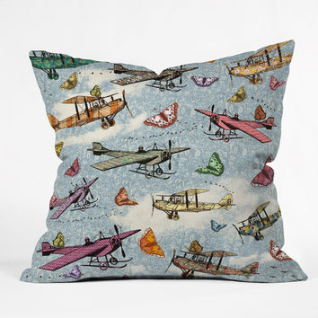 Belle13 Vintage Sky Throw Pillow