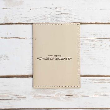 Voyage of Discovery Passport Cover Wallet