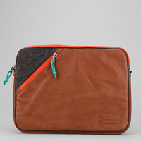 Hester St. Trading Co. Vegan Leather Zip Laptop Case