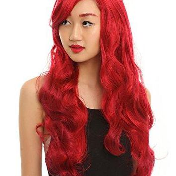 #1 Princess Wig - Elsa and Ariel Costume Wigs - Disney Quality Style (Ariel)