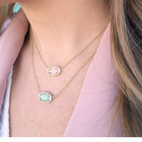 Elisa Pendant Necklace in Chalcedony - Kendra Scott Jewelry