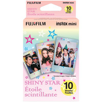 FUJIFILM 16404193 Instax(R) Mini Film Pack (Shiny Star)
