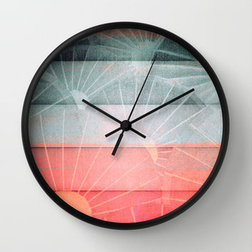 Lu Ban Wall Clock by Fernando Vieira