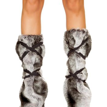 Roma RM-4808 Pair of Strappy Leg Warmers