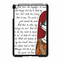 Jack And Sally Nightmare Before Christmas Couple A iPad Mini Case