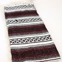 Hand Woven Classic Mexican Yoga Blankets