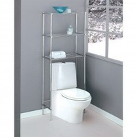 OIA Metro Spacesaver in Chrome - 16981 - Over the Toilet Cabinets - Bed & Bath