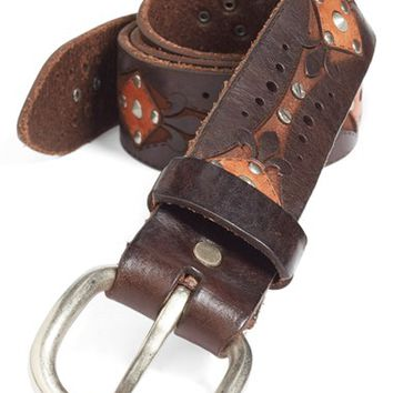 Men's Remo Tulliani 'Gabriele' Leather Belt,