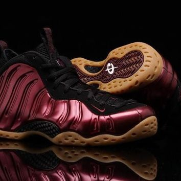"2017 New Air Foamposites One ""Maroon"" Mens Basketball Shoes"