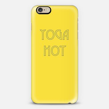 Yoga Hot (Yellow/Dk. Blue) iPhone 6s case by trebam | Casetify