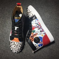 Cl Christian Louboutin Style #2172 Sneakers Fashion Shoes