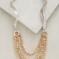Lipari Layer Necklace by Anthropologie in Gold Size: One Size Necklaces