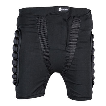 Black Short Protective Hip Pad Bicycle Snowboard Skating Protection Drop Resistance Roller Padded Shorts