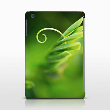Green Leaves Tablet Cover, Nature Decoration, Macro Photography, Apple iPad Cases, Samsung Galaxy Tab, Galaxy Note Cases