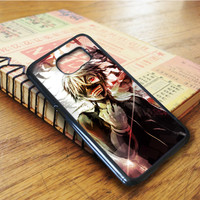 Tokyo Ghoul Kaneki Anime Cartoon Demon Samsung Galaxy S6 Edge Case