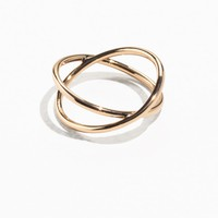 & Other Stories | Crossover Ring | Gold