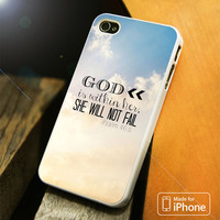 God is Within Her iPhone 4 5 5C SE 6 Plus Case