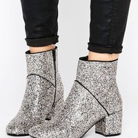 Miss Selfridge Sequin Boot at asos.com