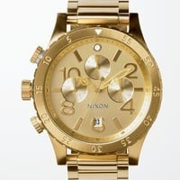 Nixon The 48-20 Chrono Watch - Mens Watches - Gold - One