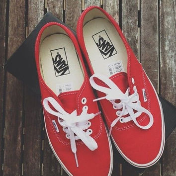 2017 Summer Shoe Quest = 1 x Red Vans