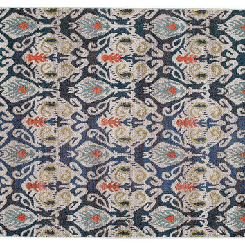 Bard Rug, Navy/Multi, Area Rugs