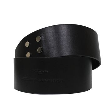 Balenciaga Couture Wide Leather Waist Belt 365358 Size: 90/36