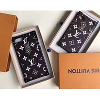 LV Louis Vuitton & Supreme co-branded classic street fashion iphone6Plus mobile phone case F/A