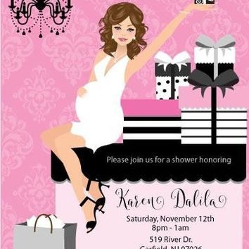 Elegant Gifts Baby Shower Invitations