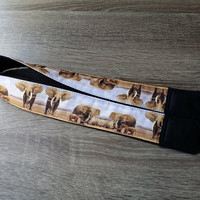 Elephants Camera Strap. For Traveller. Photographer Gift.  For Men. Photo Accessories