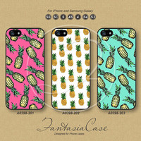 iPhone 5 case, iPhone 5C Case, iPhone 5S case, pineapple, iPhone 4S Case, Phone Cases, Samsung Galaxy S3, Samsung Galaxy S4, FA0398