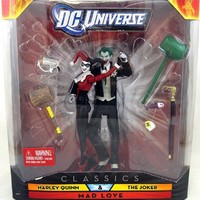 DC Universe Classics Exclusive Mad Love Figure 2Pack Harley Quinn The Joker