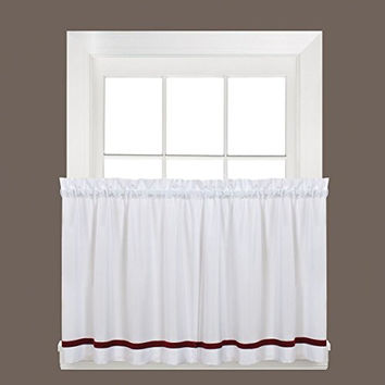 Curtains Ideas 36 inch cafe curtains : Shop Tiered Kitchen Curtains on Wanelo