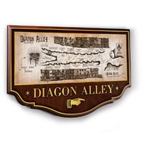 Diagon Alley Wall Plaque by Noble Collection | HarryPotterShop.com