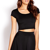 Daring Zippered Crop Top