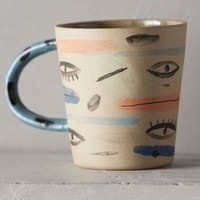 Gazing Glaze Mug by Anthropologie