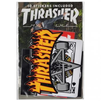 Thrasher Magazine Thrasher 10 Sticker Pack