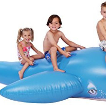 Inflatable Pool Floats; Whale Pool Raft, 11.5 Ft