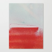what remained Canvas Print by duckyb