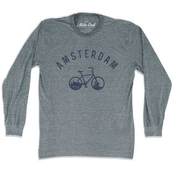 Amsterdam Bike Long Sleeve T-shirt