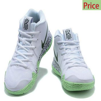 Spring Summer 2018 Really Cheap 2018 Nike Kyrie 4 White Glow In The Dark sneaker
